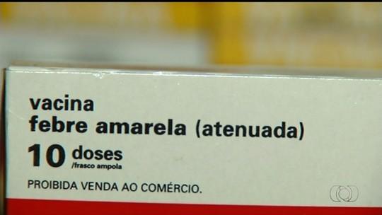 Secretaria de Saúde reforça vacinação contra febre amarela em Goiás