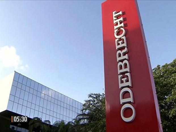 Empreiteira Odebrecht é alvo da Operação Lava Jato (Foto: Reprodução/TV Globo)
