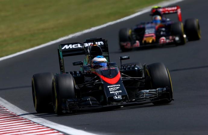 Fernando Alonso terminou GP da Hungria em quinto (Foto: Getty Images)
