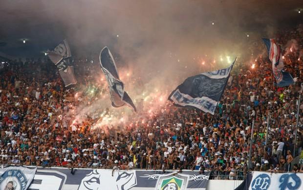 Torcida do Remo deve marcar presença nos dois jogos (Foto: Marcelo Seabra/O Liberal)