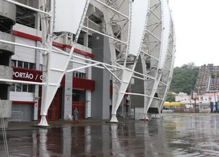 Inter faz treino fechado no Beira-Rio (Foto: Eduardo Deconto/GloboEsporte.com)