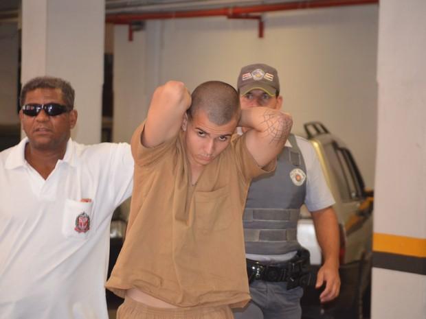 Anderson Mamede é acusado pela morte de estudante dentro da Unicamp (Foto: Fernando Pacífico / G1 Campinas)