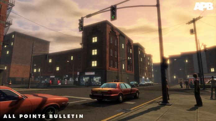 Versão original de APB falhou miseravelmente na tarefa de competir com GTA (Foto: Divulgação/Realtime Worlds)