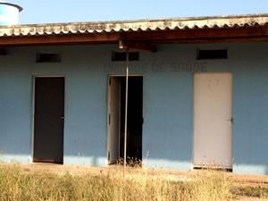 Sala da Unidade de Saúde foi reformada na penitenciária (Foto: Kelly Martins/G1)