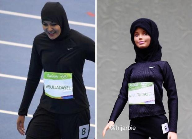 Kariman Abduljadayel inspirou um dos modelos da Hijarbie (Foto: Reprodução/Instagram)