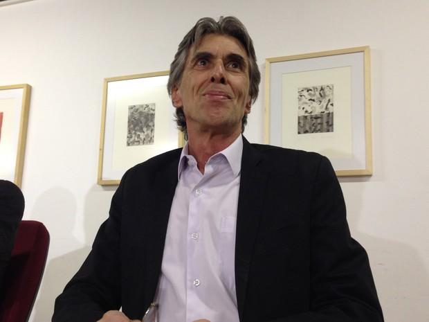 Secretário de cultura do DF, Guilherme Reis (Foto: Gabriel Luiz/G1)