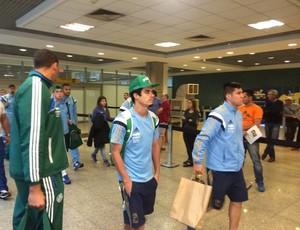 Egidio Cristaldo Palmeiras Desembarque (Foto: Rodrigo Faber)