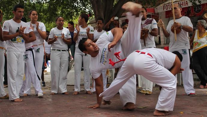 Festival de Capoeira em Petrolina (Foto: Magda Lomeu)
