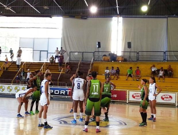 América X Brasília - Liga de basquete (Foto: Divulgação/LBF)