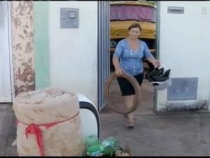 Terezinha teve dengue 3 vezes no passado  (Foto: Reprodução/ Inter TV)
