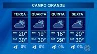 Veja a previsão do tempo para terça-feira