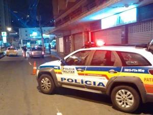 Blitz Juiz de Fora (Foto: Polícia Militar/Divulgação)
