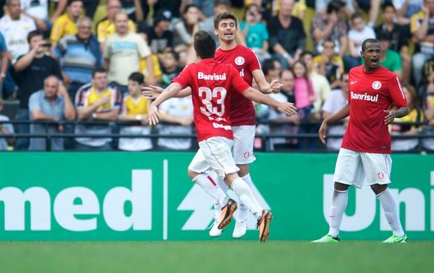 internacional inter criciúma gol otávio alex (Foto: Alexandre Lops/Divulgação Inter)