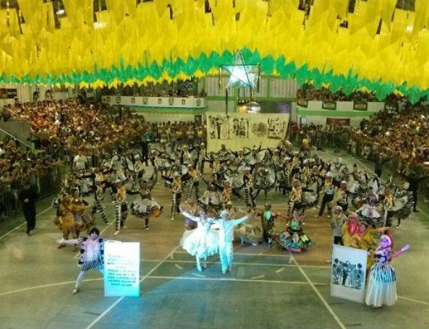 Festival de quadrilhas juninas inter tv cabugi (Foto: Cinthia Macedo/G1)