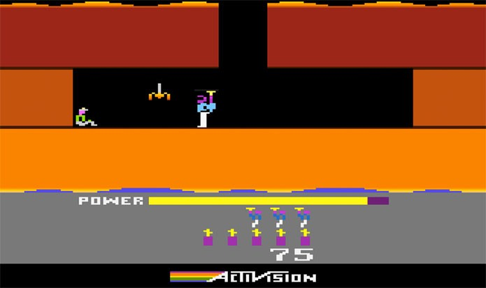 Hero era um jogo bem longo para os padrões do Atari (Foto: Reprodução/Atari Archives)