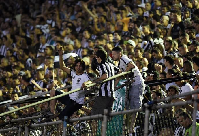 Torcida Botafogo x Flamengo (Foto: André Durão)