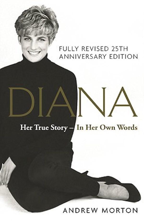 A capa do livro com as revelações da Princesa Diana (Foto: Reprodução)