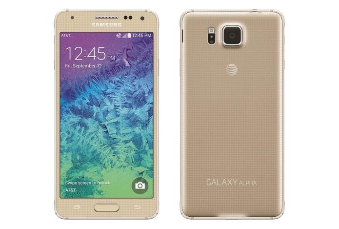 Galaxy Alpha pode ser encontrado por valor inferior ao concorrente em lojas online (Foto: Divulgação/Samsung)