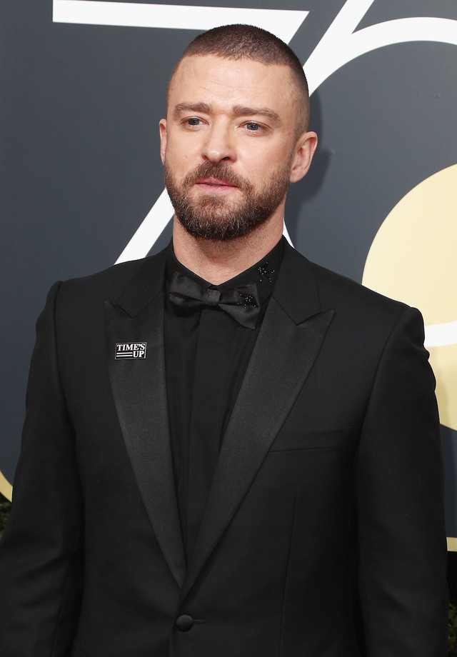 BEVERLY HILLS, CA - JANUARY 07:  Justin Timberlake attends The 75th Annual Golden Globe Awards at The Beverly Hilton Hotel on January 7, 2018 in Beverly Hills, California.  (Photo by Frederick M. Brown/Getty Images) (Foto: Getty Images)