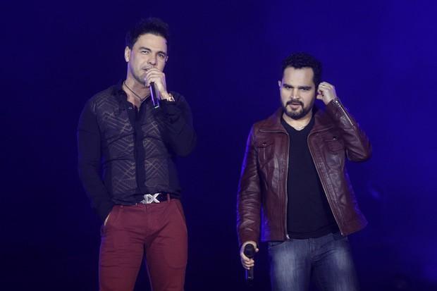 Show de Zezé Di Camargo e Luciano (Foto: Celso Tavares/EGO)