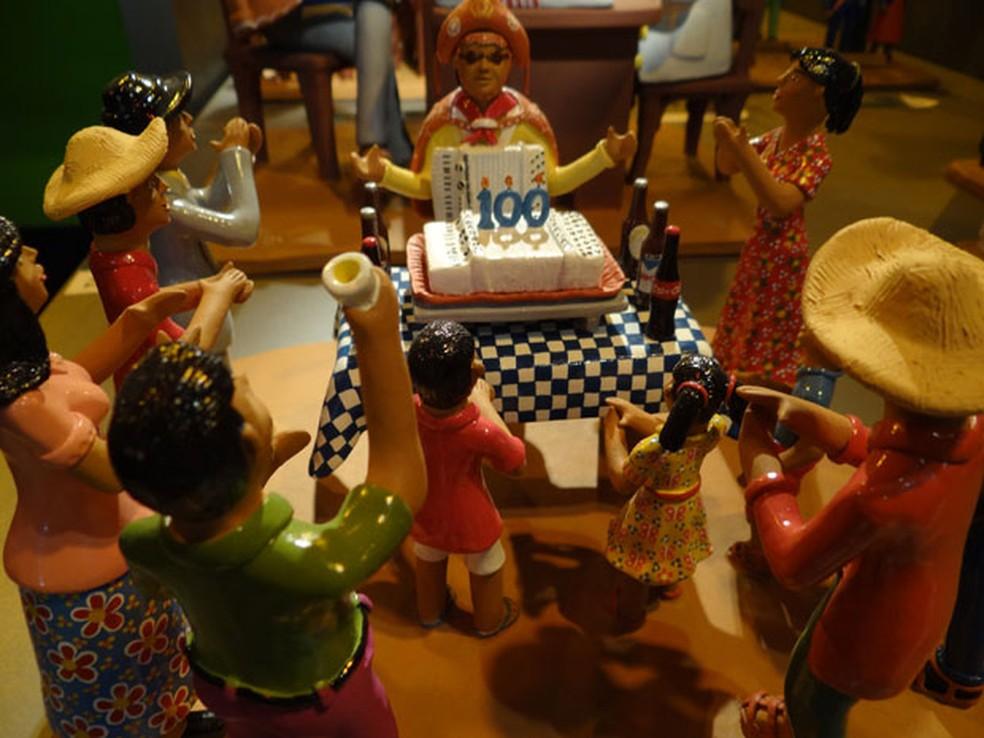Salão de Arte Popular da Fenearte (Foto: Luna Markman/G1)