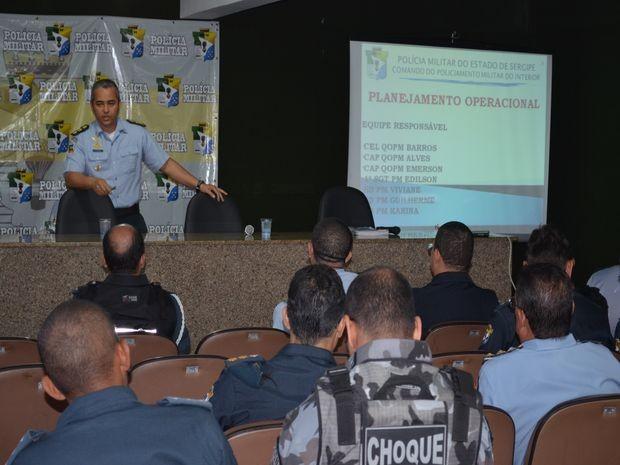 Policiamento vai ser distribuido por todo os municípios de Sergipe (Foto: Flávio Antunes/G1SE)