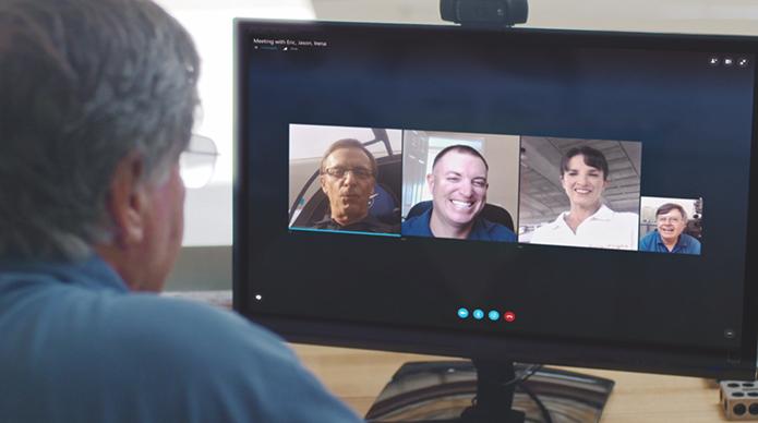 Skype Meetings torna serviço de vídeo conferência mais acessível (Foto: Divulgação/Microsoft)