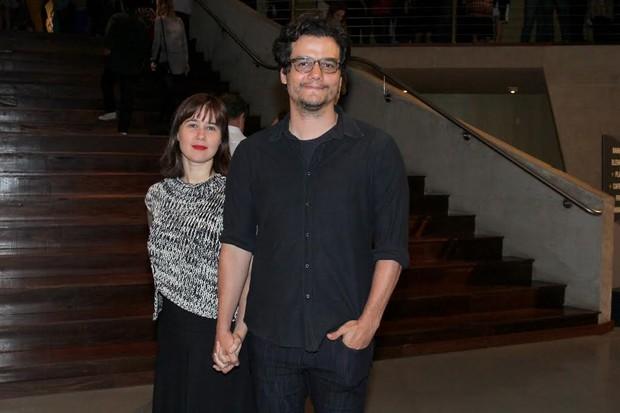 Wagner Moura e Sandra Delgado (Foto: Alexander Palarea / Ag News)