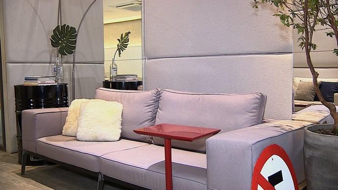 Decoração urbana é a nova tendência na ornamentação de ambientes (Foto: TV Sergipe)