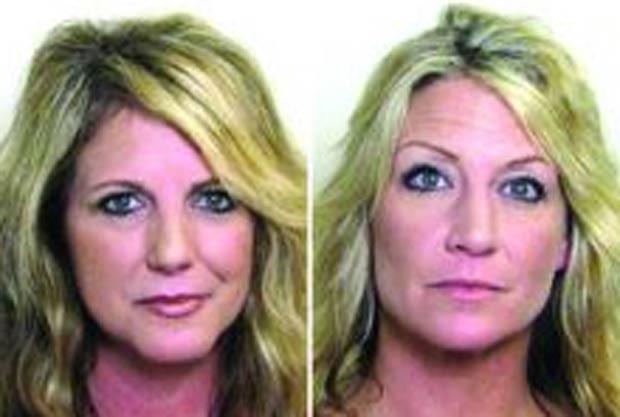 Shelly Lewis (esq) e Alicia Binford foram acusadas de exposição indecente. (Foto: Divulgação)