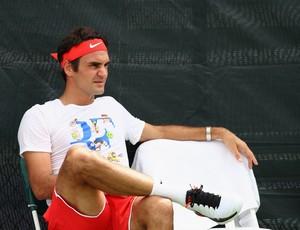 Roger Federer treino Miami (Foto: Getty Images)