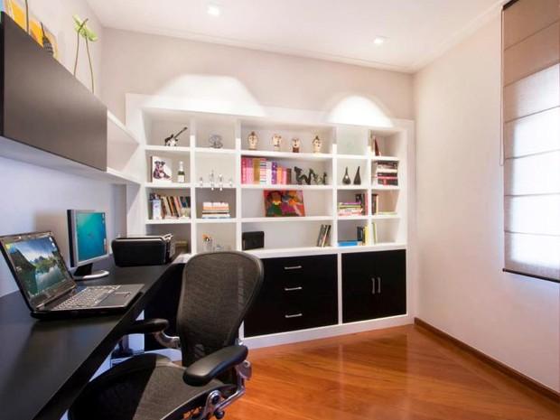 home office projeto Gerson Dutra de Sá  (Foto: Divulgação)