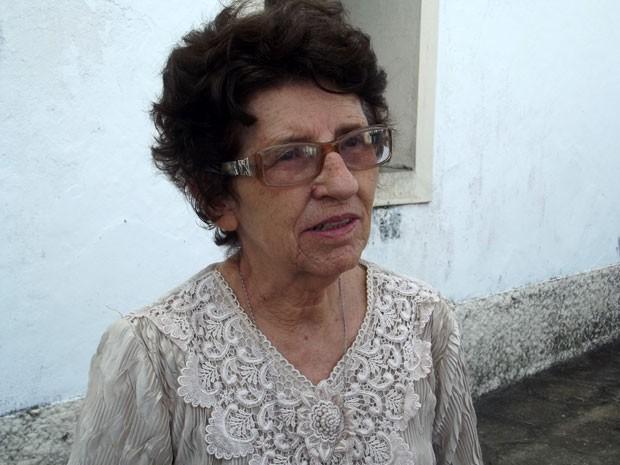 Maria José Cardoso - irmão missionária de Jesus Crucificado (Foto: Fernanda Zauli/G1)