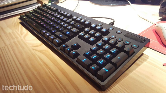 Teclado gamer Logitech G810 (Foto: Rodrigo Rosalinski/TechTudo)
