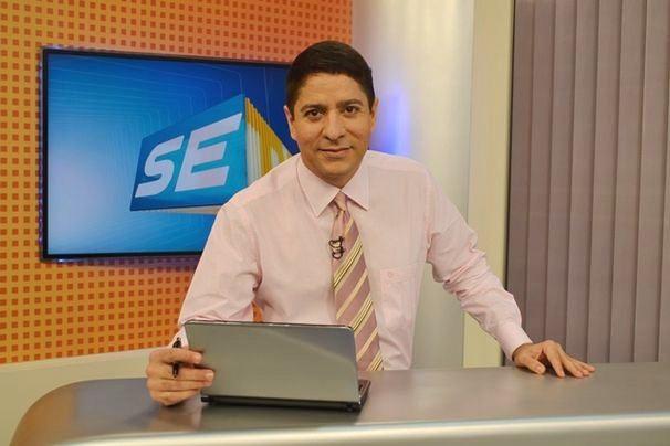 Ricardo Marques traz as notícias do dia no SETV 1ª Edição (Foto: Divulgação/TV Sergipe)