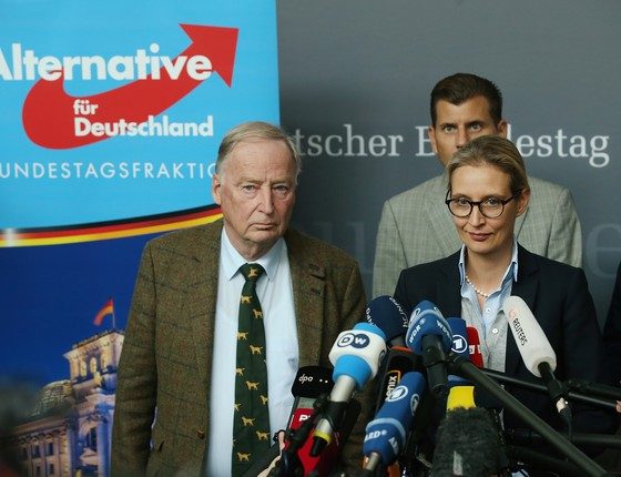 Líderes do Partido AfD (Alternativa para a Alemanha) (Foto: Maja Hitij/Getty Images)