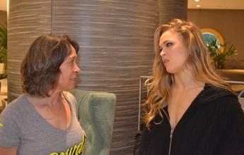 Mãe de Ronda discorda da filha e pede castigo rápido e doído a Bethe