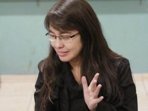 Elayne é intérprete de Natalia Carla (Foto: Elyane Kanashiro/Arquivo Pessoal)