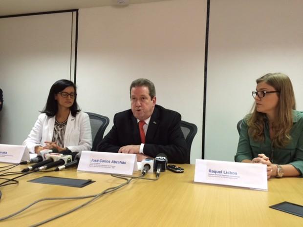 José Carlos de Souza Abrahão, diretor-presidente da ANS. anunciou novo rol de procedimentos dos planos de saúde (Foto: Káthia Mello/G1)