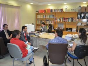 Audiência do MPT com os sindicatos começou às 11h.  (Foto: MPT-CE/Divulgação)