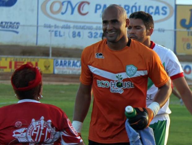 Danilo, goleiro do Alecrim (Foto: Gabriel Peres/Divulgação)