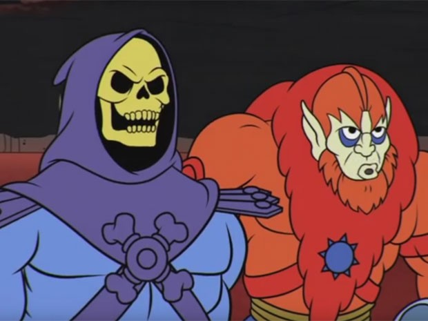 Cena do trailer de 'The curse of the three terrors', primeiro episódio de 'HeMan and the Masters of the Universe' desde 1985 (Foto: Reprodução/YouTube/super7store's channel)