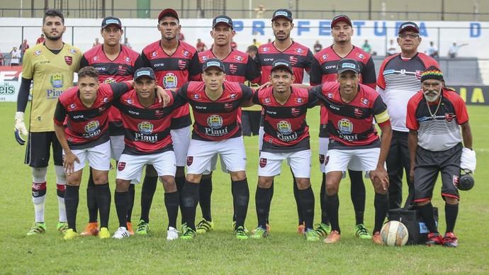 Flamengo-PI 2017 (Foto: Reprodução/Facebook)