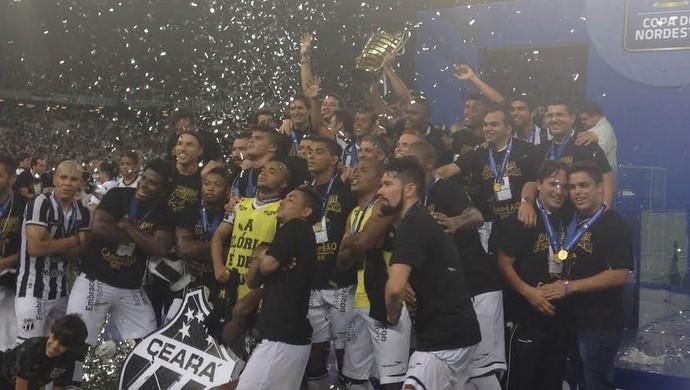 Ceará, Bahia, Copa do Nordeste, Final, Taça (Foto: Thais Jorge)