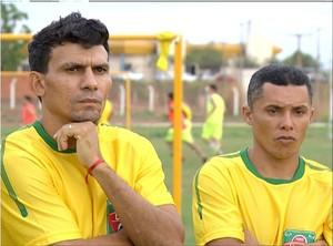 Lourigol e Jean Miracema estão no elenco do União de Palmas (Foto: Reprodução/TV Anhanguera)