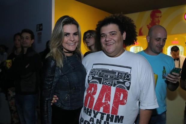 Lívia Lemos e Gominho (Foto: Daniel Pinheiro / AgNews)