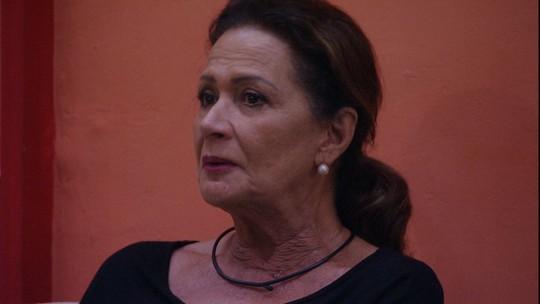 Ieda fica emocionada ao relembrar conversa com Luiz Felipe: 'Gostava do menino'