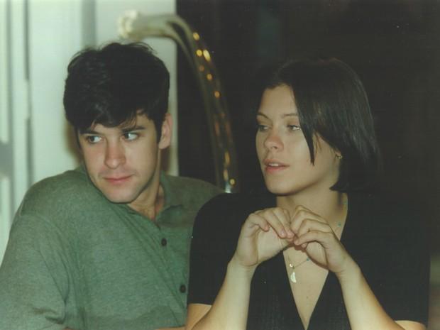 Léo (Murilo Benício) e Catarina (Carolina Dieckmann) em Por Amor