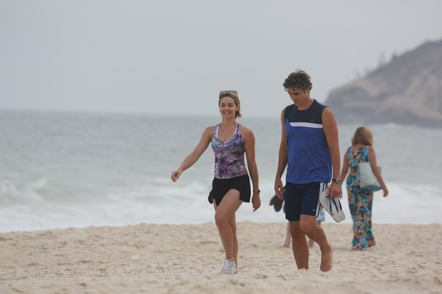 Bianca Rinaldi e Reynaldo Gianecchini (Foto: Dilson Silva / AgNews)