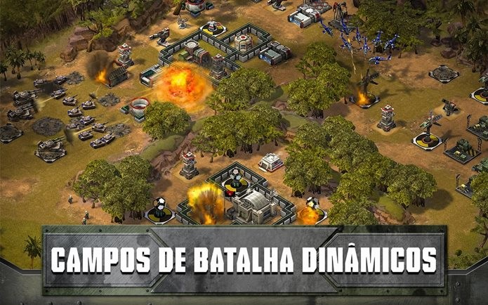 Game de estratégia para iOS se inspira em guerras modernas (Foto: Divulgação / Zynga)